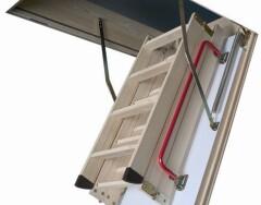 Виды чердачных лестниц с люком: особенности конструкций