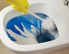 Как отмыть унитаз от ржавчины и налета просто и быстро