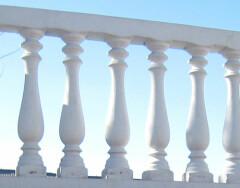Изготовление балясин из бетона: делаем формы своими руками