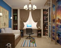 Интерьер для детской комнаты мальчика – формируем мужской характер