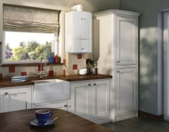 Как разместить газовый котел на кухне, чтобы он стал частью интерьера