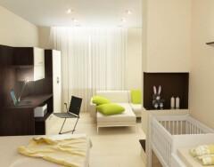 Дизайн однокомнатной квартиры для троих — ищем возможности