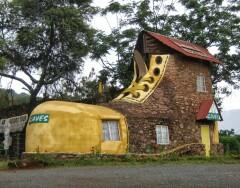 Дома оригинальной формы со всего мира