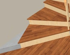 Где используются забежные ступени и как их сделать своими руками
