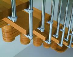 Особенности монтажа модульных лестниц на второй этаж