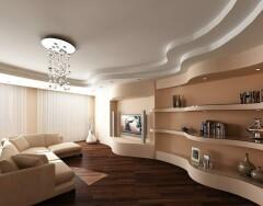 Как оформить потолок, чтобы зрительно увеличить маленькую комнату