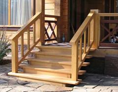 Строительство деревянного крыльца своими руками