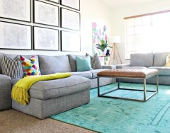 Сочетание цветов в интерьере гостиной: определяемся с выбором