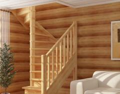 Особенности лестниц на второй этаж в деревянном загородном доме