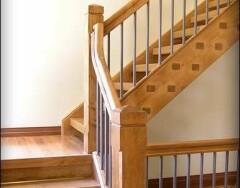 Двухмаршевые лестницы с площадкой: виды и особенности конструкций