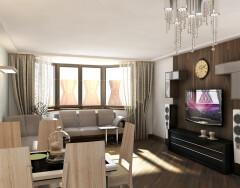 Дизайн комнаты с эркером — следуем правилам