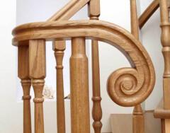 Как сделать перила для лестницы: изготовление и монтаж своими руками