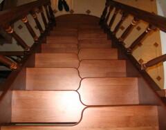 Делаем лестницу гусиный шаг своими руками: пошаговая инструкция
