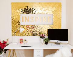 Декор стен своими руками — дорогу креативу!