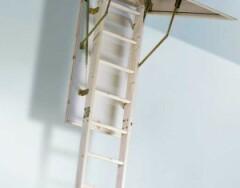 Выдвижные чердачные лестницы: особенности и модификации