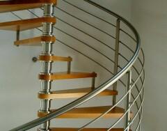 Проектируем винтовую лестницу: конструкция и размеры для составления чертежа
