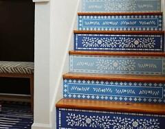 Оформление лестницы: оригинальные идеи для декора