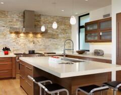Отделка стен на кухне: обзор лучших вариантов