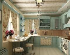 Кухни в стиле Прованс – очарование солнечной Франции