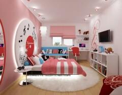 Интерьер детской комнаты для подростка — девочки