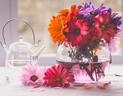 Что добавить в вазу к цветам, чтобы сохранить их свежесть дольше