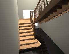 Нормативы и правила расчета ширины лестничного марша и площадки