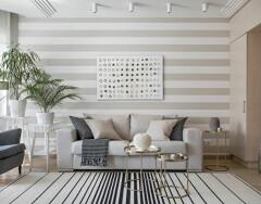 Какие обои выбрать для зала: красивые стены — залог удачного интерьера