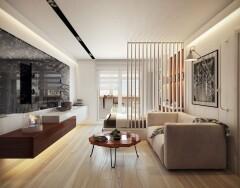 Дизайн однокомнатной квартиры. Простые правила