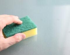 Продлеваем  жизнь кухонным губкам для посуды и неплохо экономим на покупке новых