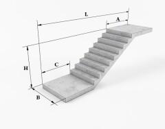 Стандартные размеры лестничных маршей и площадок: требования ГОСТ