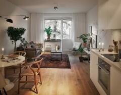 Чтобы сделать простой и удобный интерьер, обратите внимание на скандинавский стиль