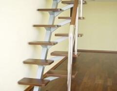 Расчет основных показателей лестницы гусиный шаг