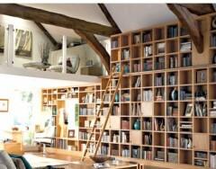 Как выбрать лестницу для библиотеки: полезные советы