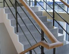 Требования к ограждениям лестничных маршей и площадок