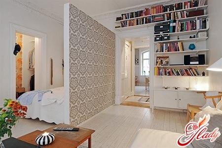 интерьер для однокомнатной квартиры
