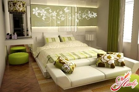 планировка большой спальни