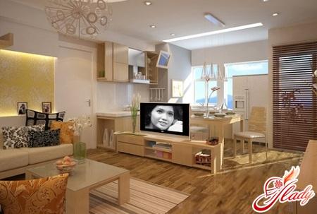 дизайн планировка однокомнатной квартиры