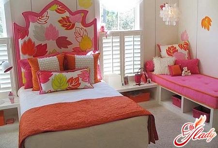 красивый интерьер детской комнаты для двух девочек