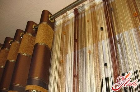 модные шторы для зала своими руками