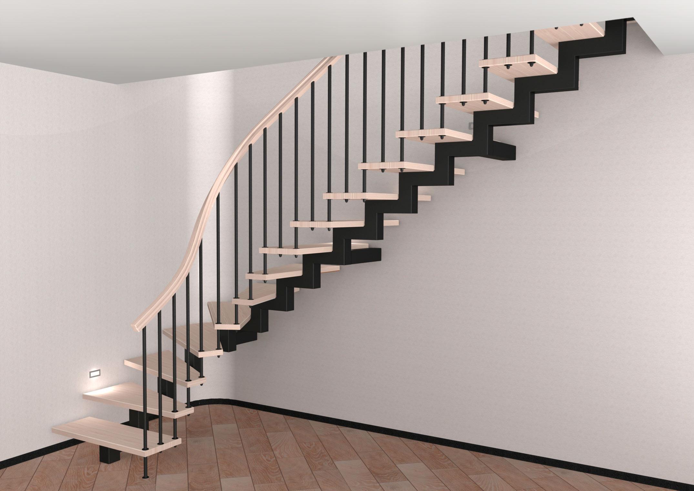 Косоуры лестниц из металла своими руками фото 996