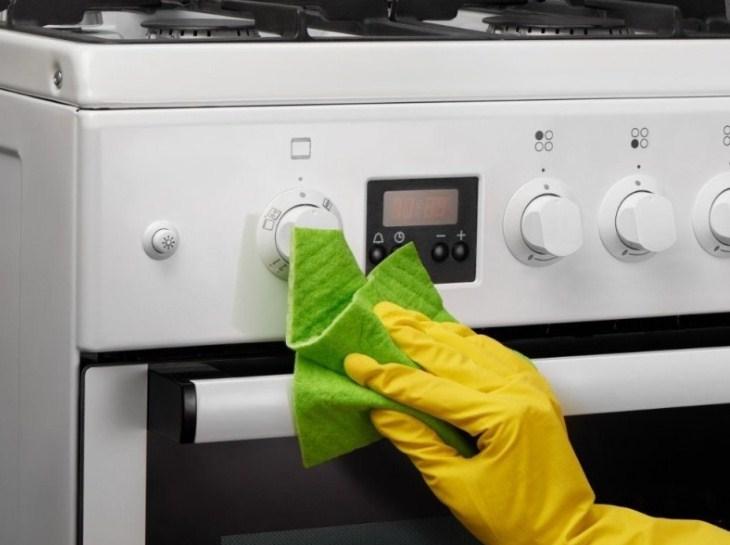 Как отчистить ручки у газовой плиты