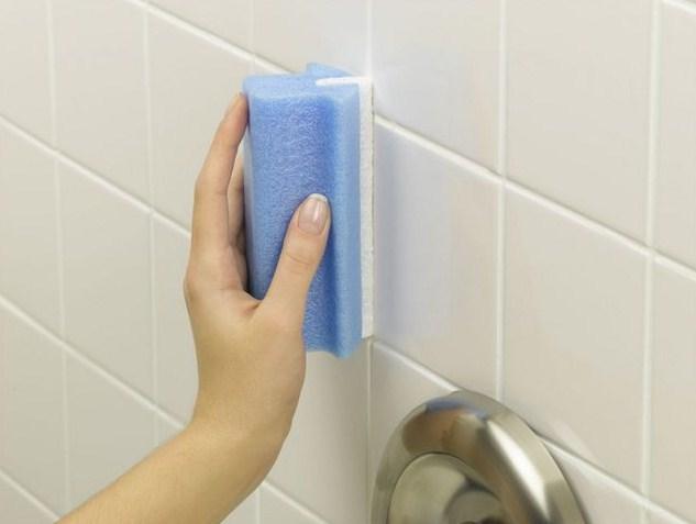Как отбелить швы в ванной