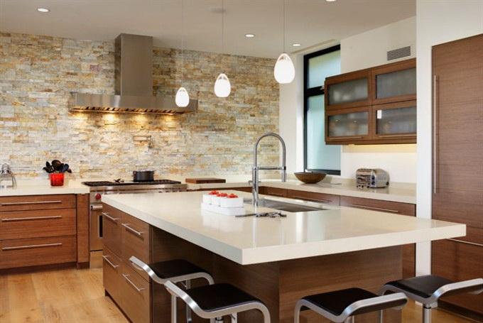 Какое покрытие выбрать для стен в кухне