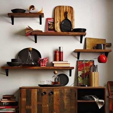 Reclaimed Lumber Shelves