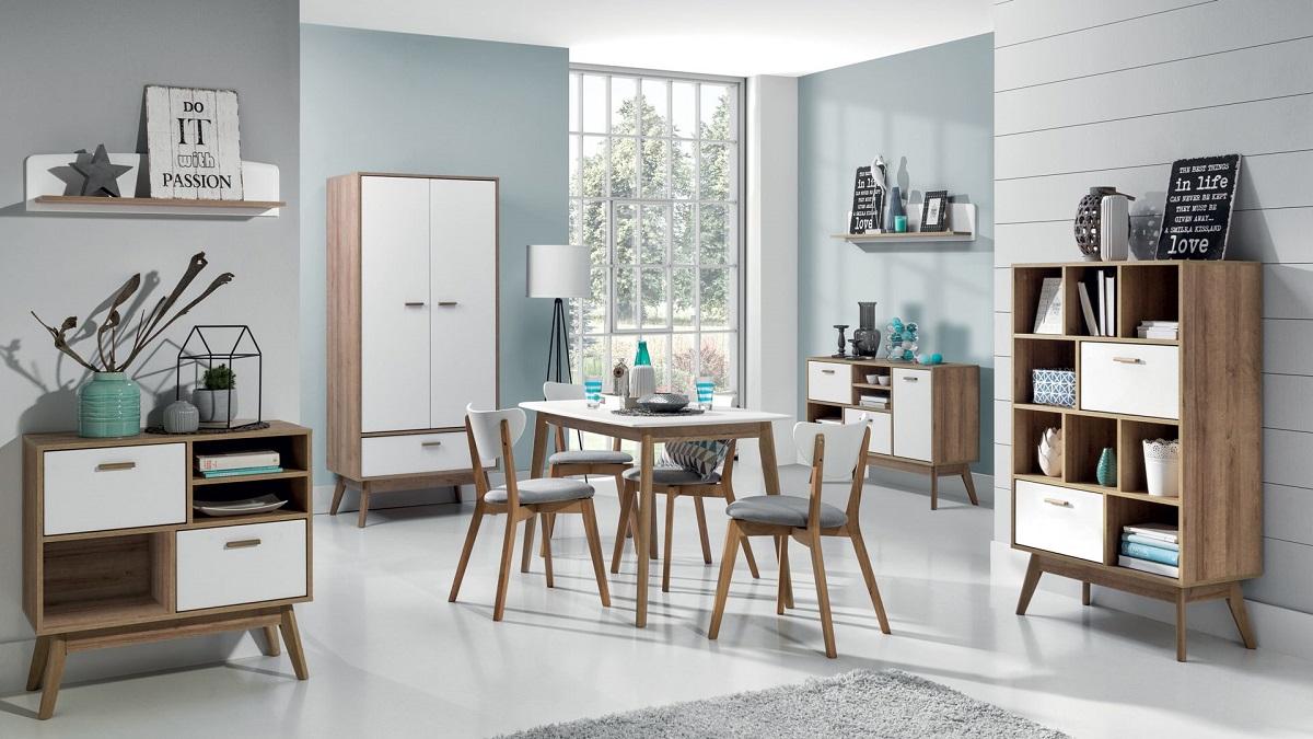 фото мебель в скандинавском стиле много