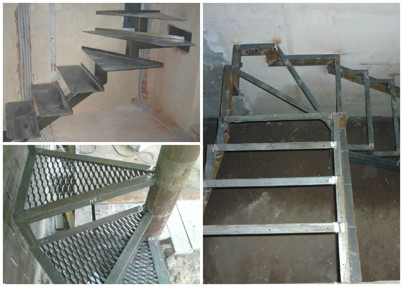 Лестница из металла своими руками ютуб 78